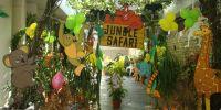 Jungle Decoration Ideas   jungle theme party entrance ...
