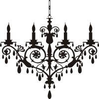Chandelier Clip Art http://www.modernlamps.info/chandelier ...