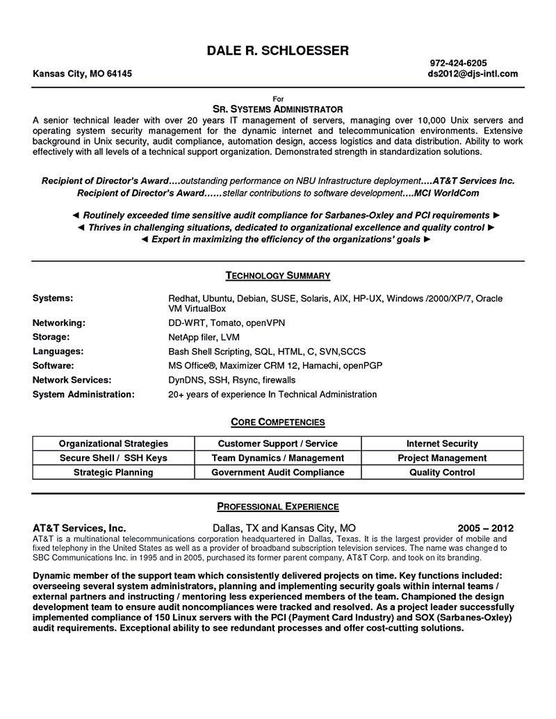 sample resume for vmware administrator  best create professional  also sample resume for vmware administrator system administrator resume samplelinux system administrator resume system administrator resume