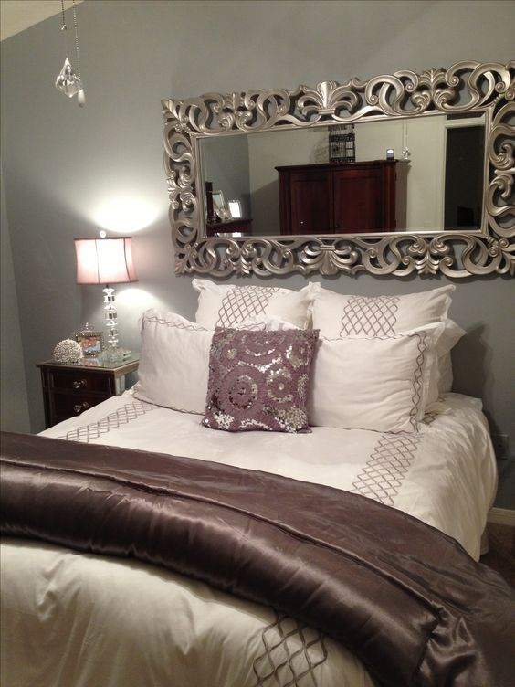 Home Decor - Bedroom Decor Nice use of the mirror to take away - home decor bedroom