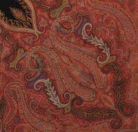 19th century Kashmir shawl style court: Textile Scout ...