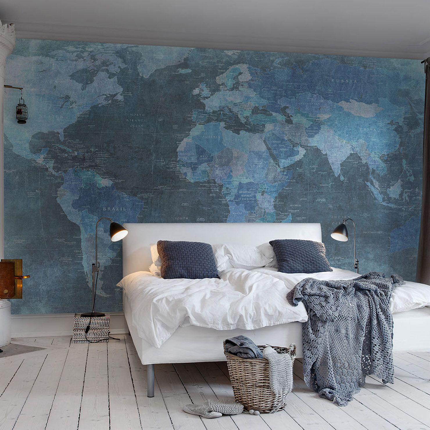Bedroom Background Painting Best 25 43 World Map Wallpaper Ideas On Pinterest World