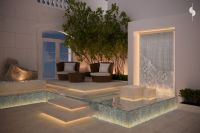 roof garden , private villa , sarah sadeq architects ...