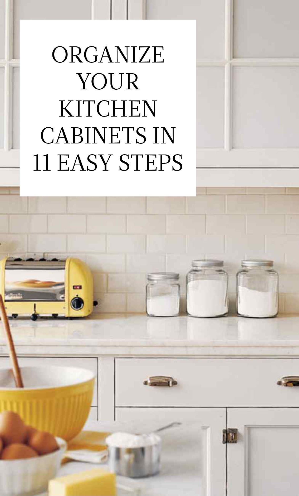 Organize Kitchen Cabinets Organize Your Kitchen Cabinets In 11 Easy Steps Homekeeping
