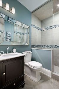 35 blue grey bathroom tiles ideas and pictures ...