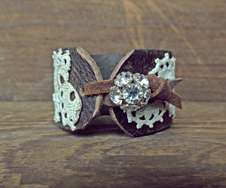 Best 25 Leather Lace Bracelet Ideas On Pinterest Diy
