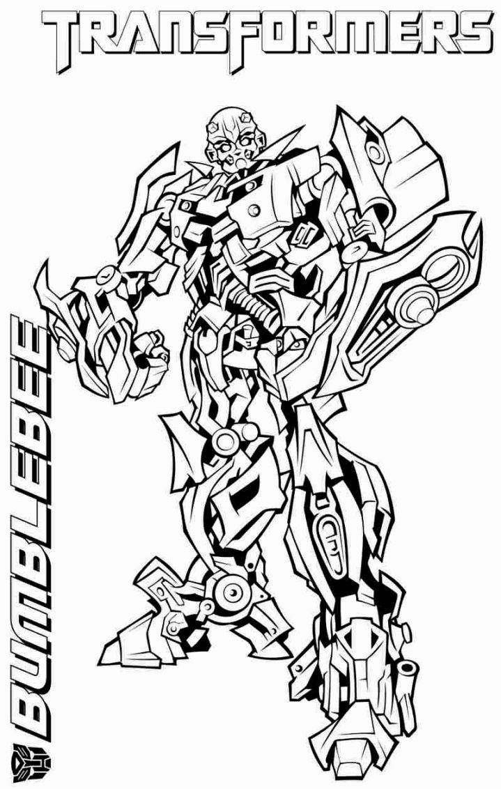 Transformers Coloring Pages Bumblebee Download