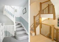 Left Econoloft staircase, Right Tony Pestana Builders ...