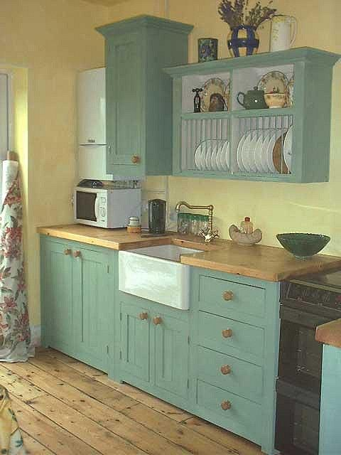 small country kitchen, but use one side of lower cabinet for an - small country kitchen ideas