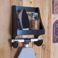 Primitive Ironing Board Holder for the Laundry Room ...