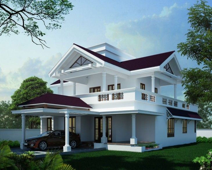 Today Indian Home Design showcase a 3 Bedroom Budget Home design - home designers