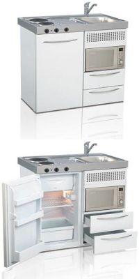 Mini kitchen, compact kitchen, small kitchen, space saving ...