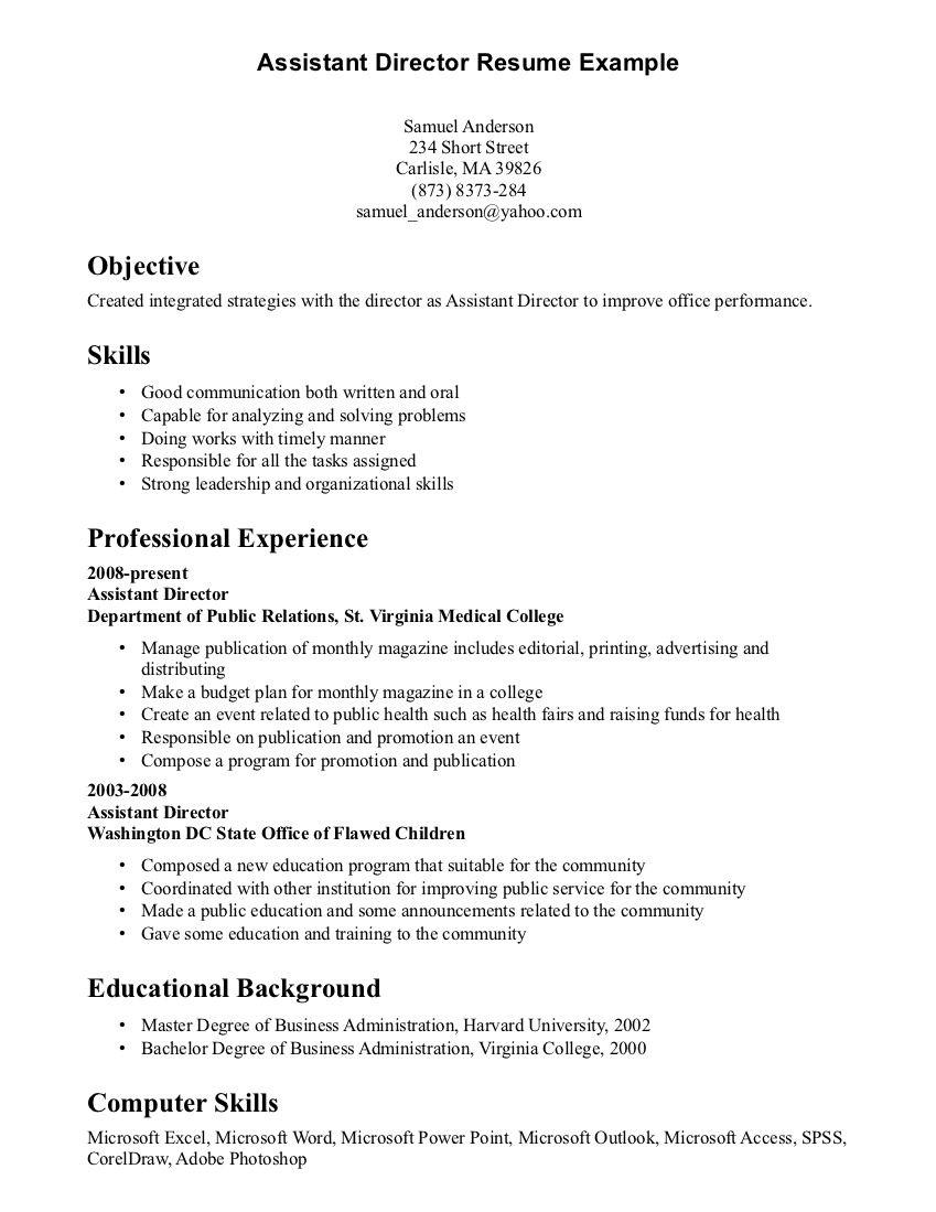 resume communication skills resume examples professional job ...