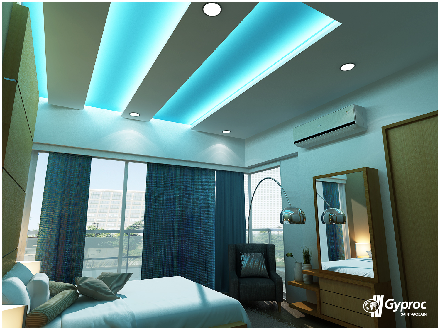 Plafond Gyproc Enhance The Beauty Of Your Bedroom With Gyproc Ceilings