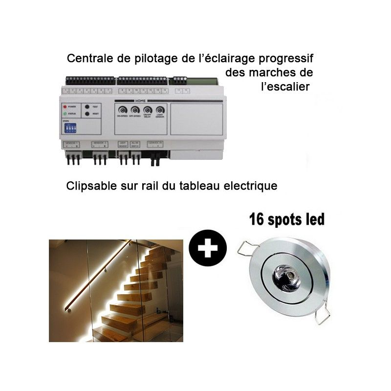 Kit Eclairage Escalier Led Progressif Http://livolofrance.fr/fr/led/253-kit-eclairage-led