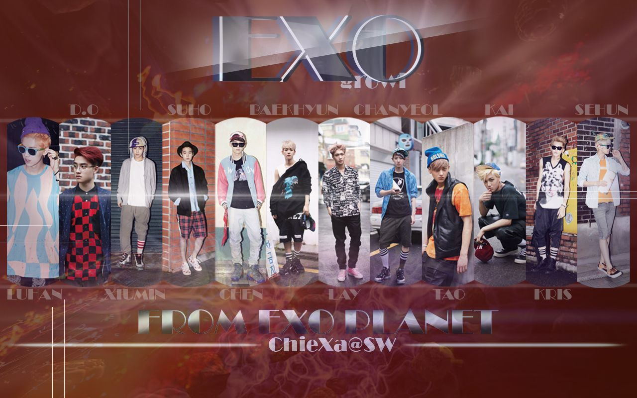 Free download exo growl teaser wallpaper full hd for dekstop