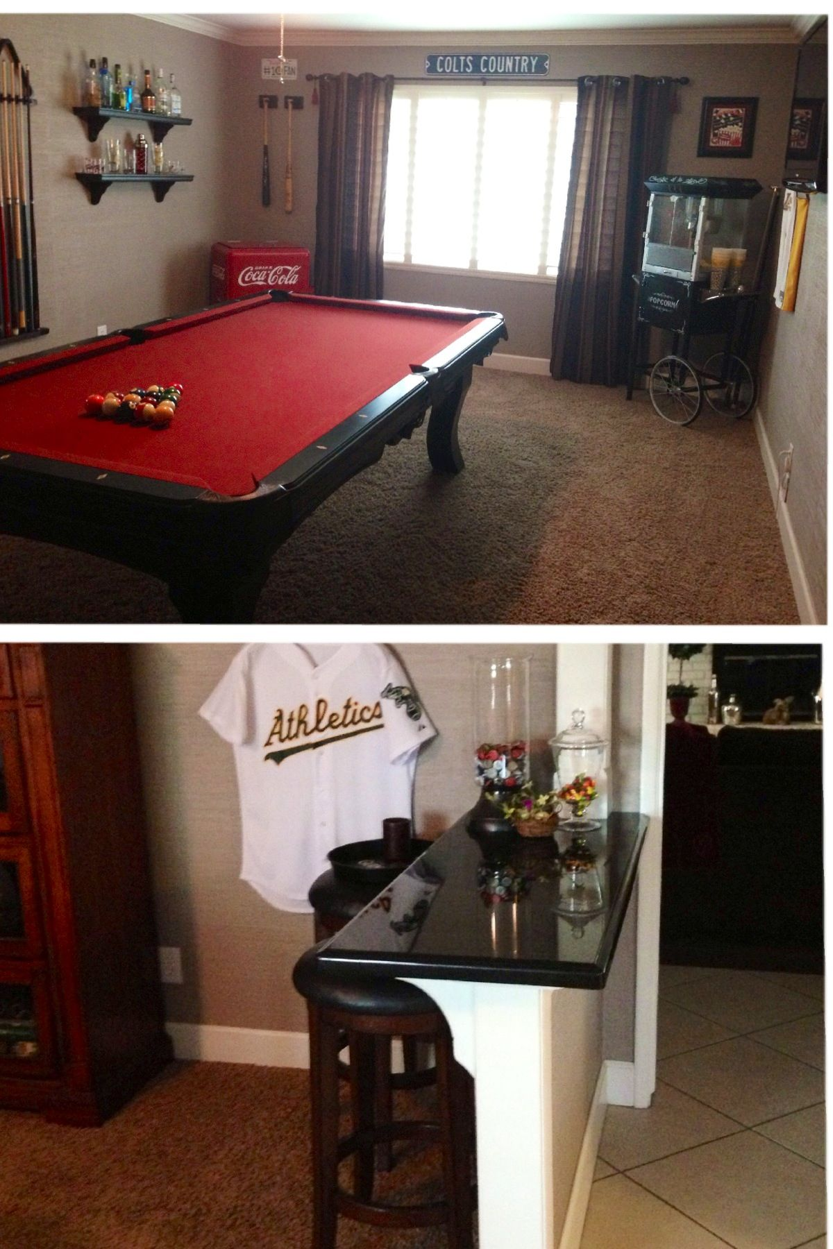 Adding A Wall To A Room Turn That Unused Quotformal Quot Living Room Into A Game Room