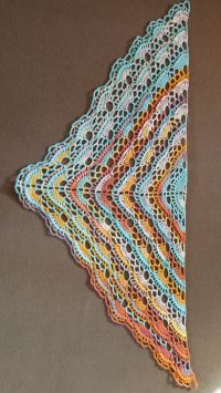 Bernat Yes Yes Shawl Free Intermediate Women's Shawl ...