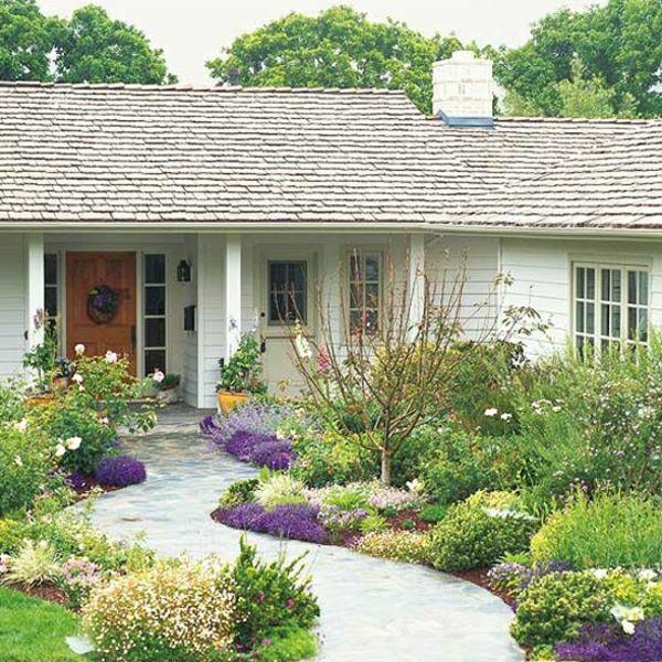 kleinen vorgarten gestaltung ideen garten Pinterest - kleinen vorgarten gestalten