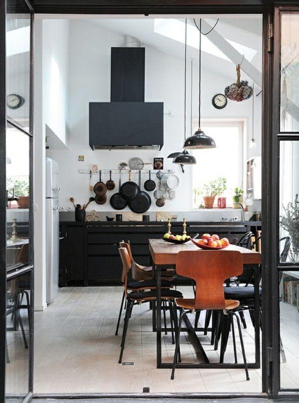 Skandinavisches Küchen Design sorgt für Gemütlichkeit - skandinavisches kuchen design sorgt fur gemutlichkeit