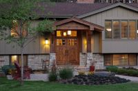 Stone for lower level of a split level house! | Curb ...