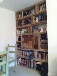Scaffold board bookcase | DIY Shelves | Pinterest ...