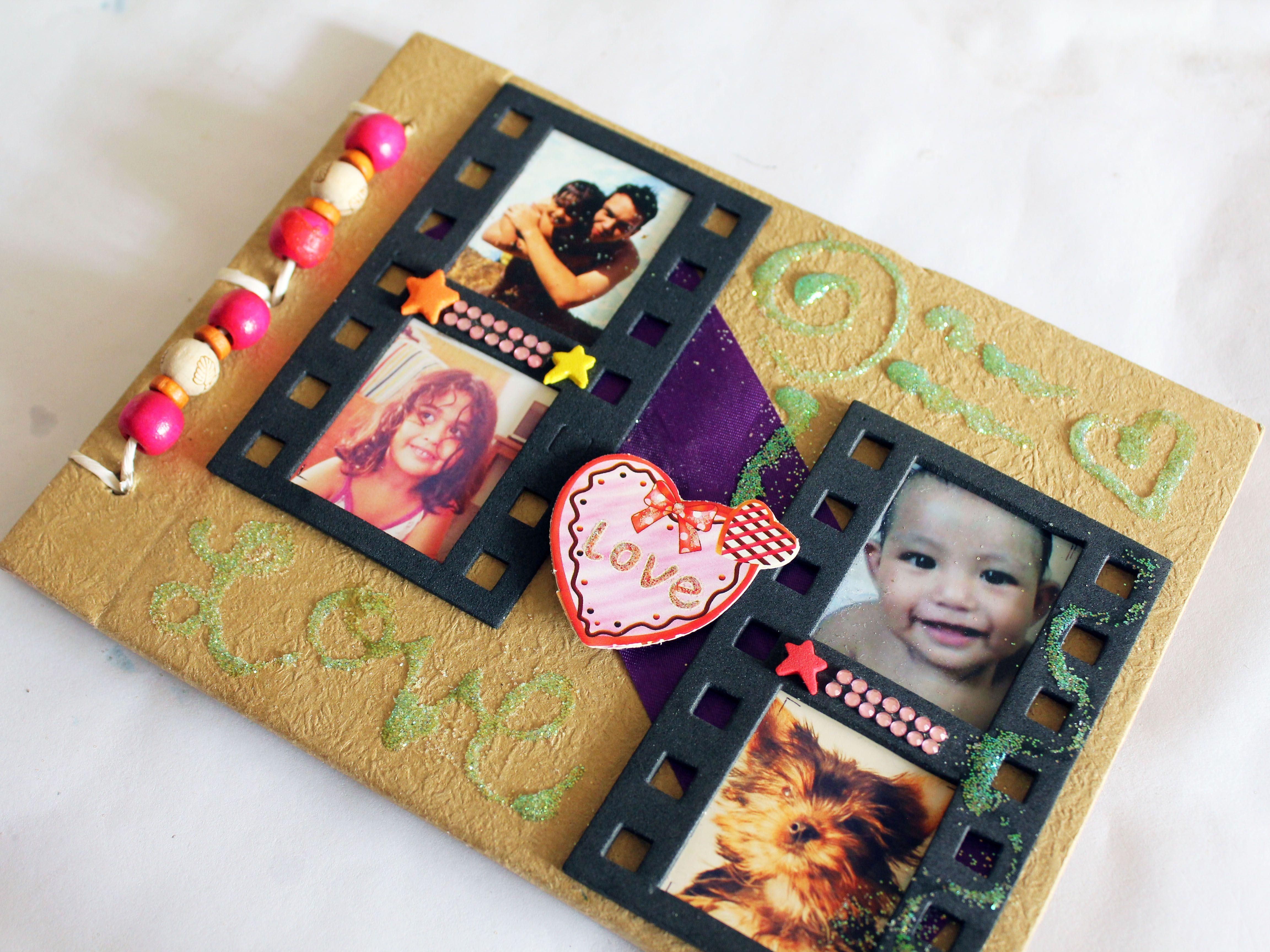 How to make a homemade scrapbook with construction paper make a best friends scrapbook