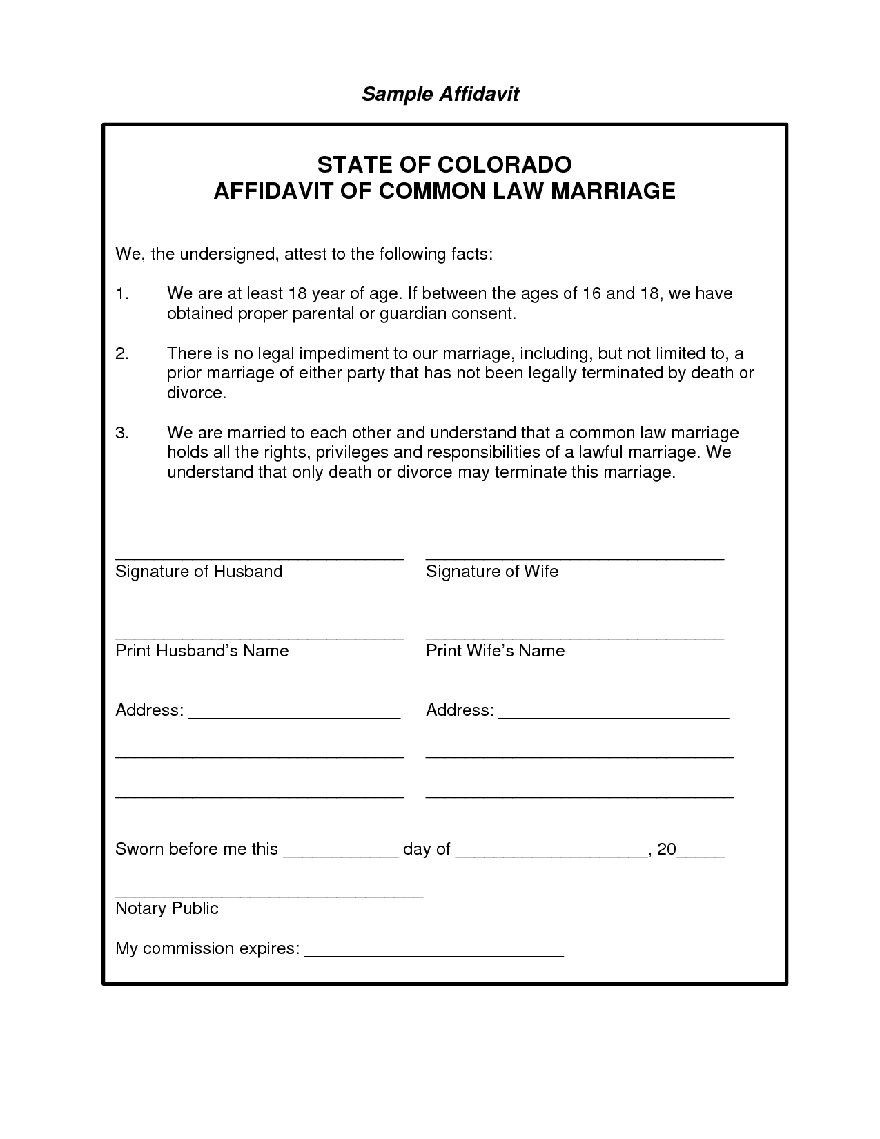Doc415537 Affidavit Word Template Affidavit Form 83 Related – Affidavit Form Free