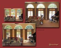 palladian window treatments   shades, choosing bamboo ...