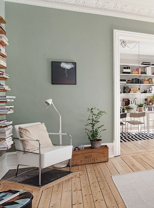 Schön 10 Rooms That Will Make You Want Sage Green Walls (The Edit   Category  Esszimmer