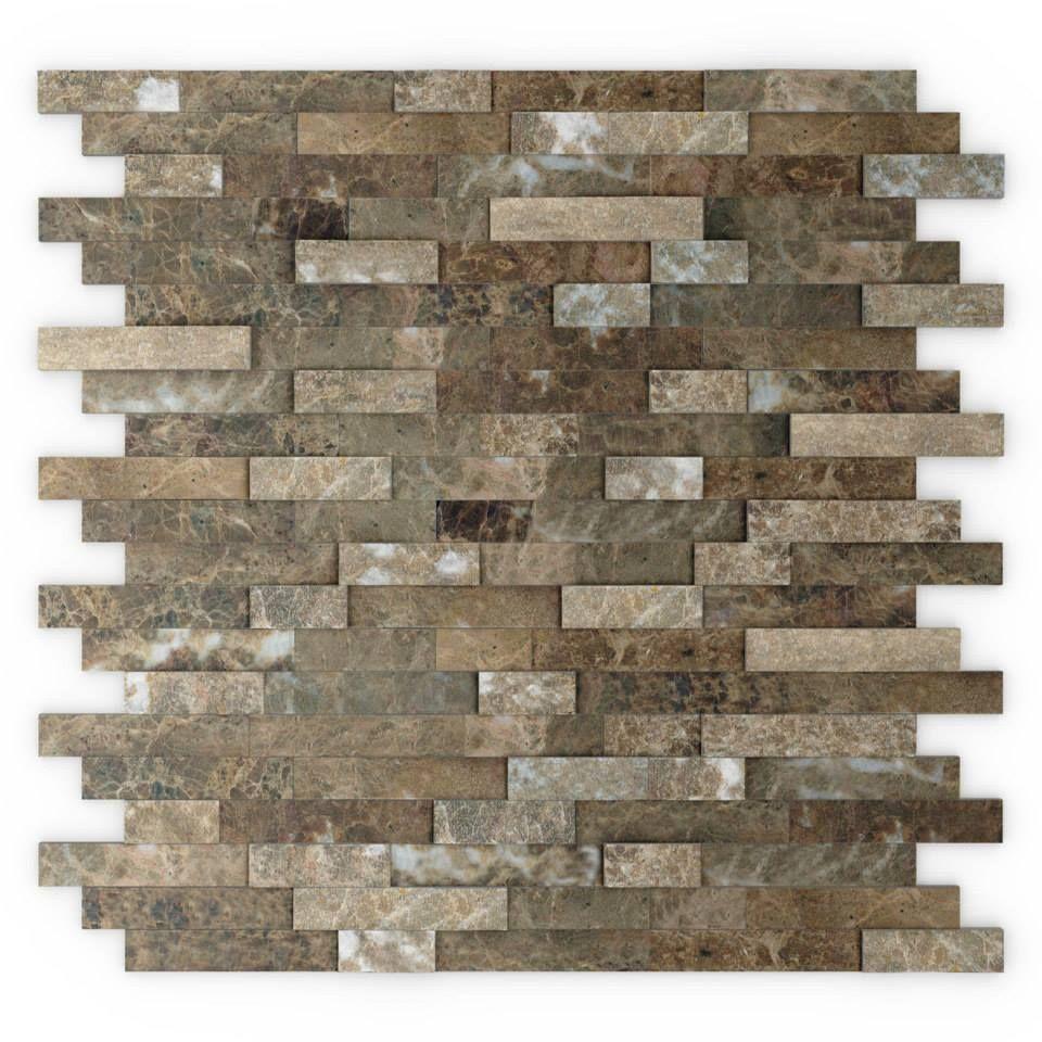 Bengal Self Adhesive Stone Tiles Inoxia Speedtiles