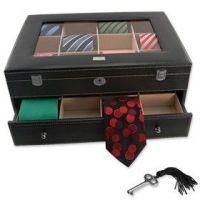 Locking Necktie Box storage devices review | buy, shop ...