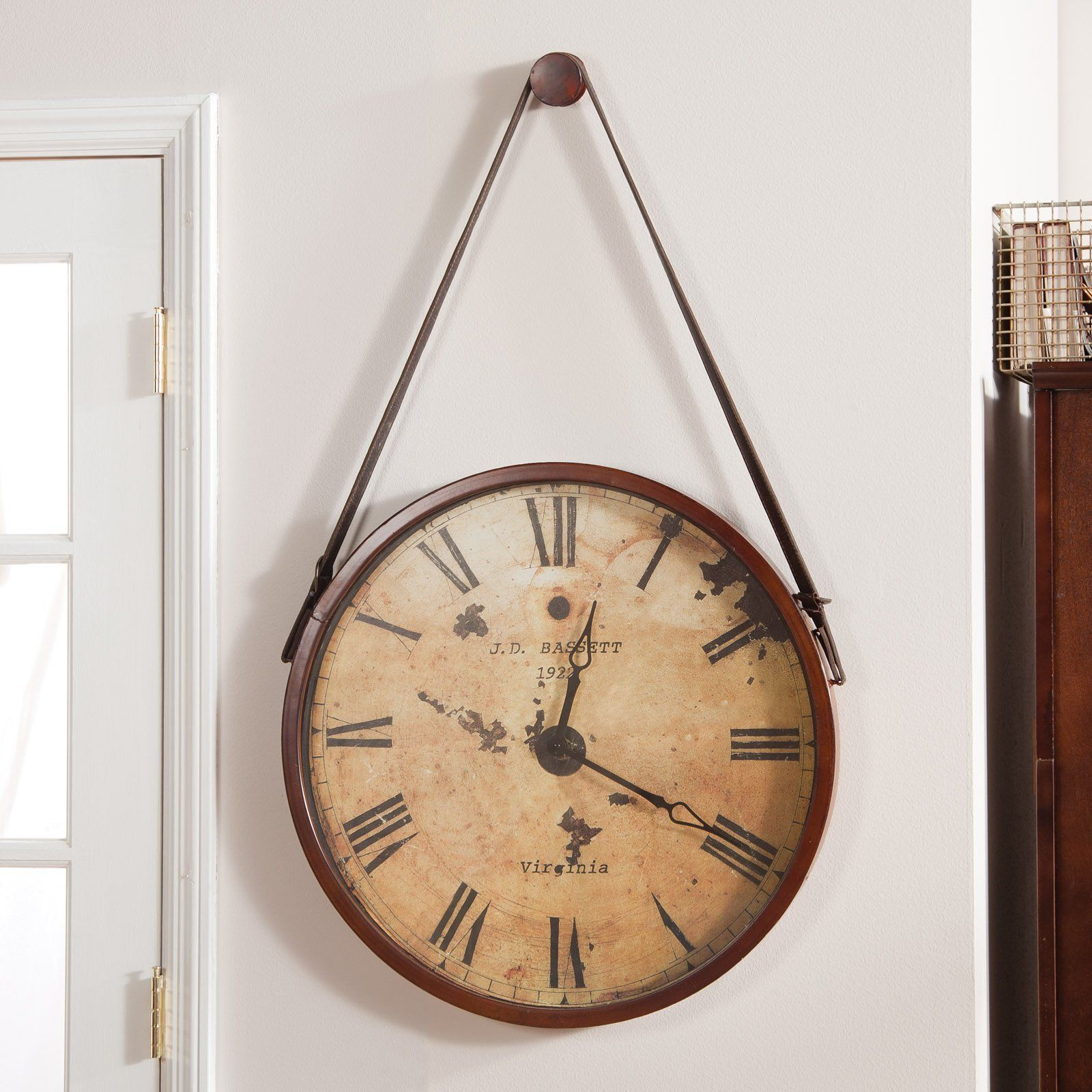 Where To Hang Wall Clock In Living Room Have To Have It Hanging Decorative 24 In Diam Wall Clock