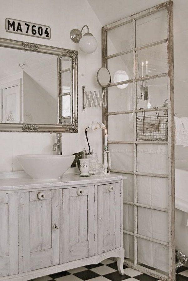 50+ Amazing Shabby Chic Bathroom Ideas - Noted List Shabby chic - shabby chic bathroom ideas