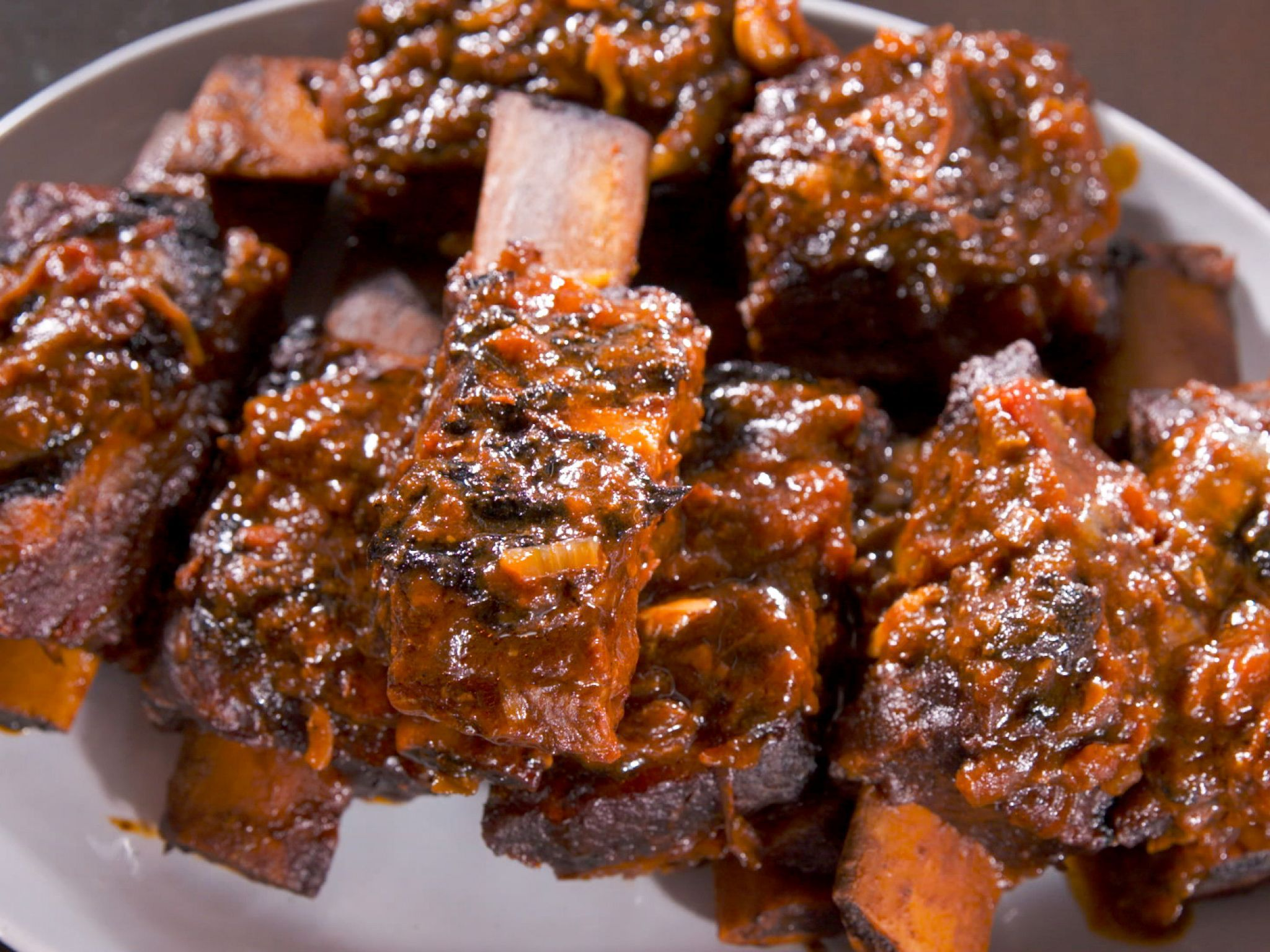 Food Network Farmhouse Rules Recipes Sweet And Sticky Bbq Beef Ribs Recipe Nancy Fuller