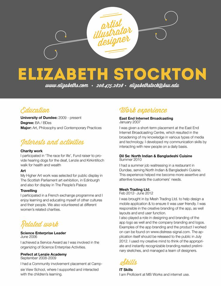 Event Manager Resume Sample – Event Planner Resume Objective