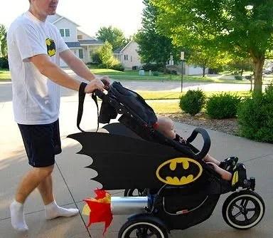 5 disfraces para beb con carriola for Silla coche batman