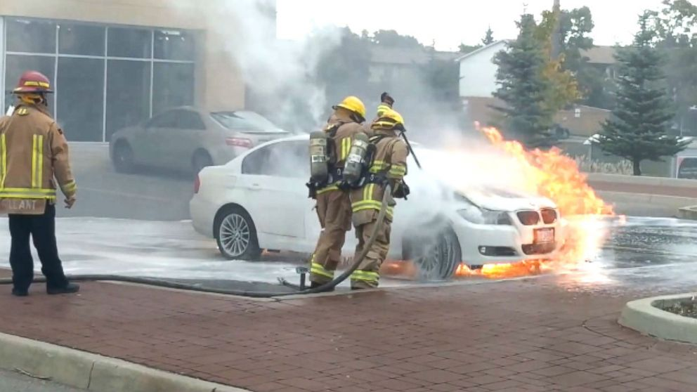 BMW recalls 1 million vehicles for fire risk - ABC News