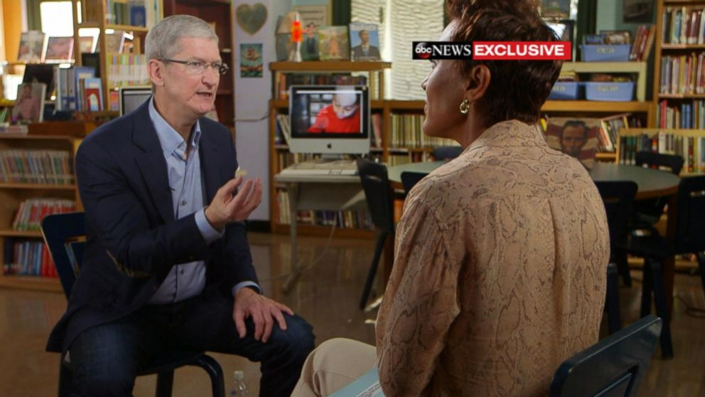 Exclusive Apple CEO Tim Cook on iPhone AirPods, Tech in Classrooms - tim cook resume