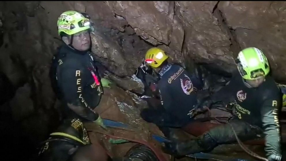 Operation to extract boys trapped in Thai cave could begin soon