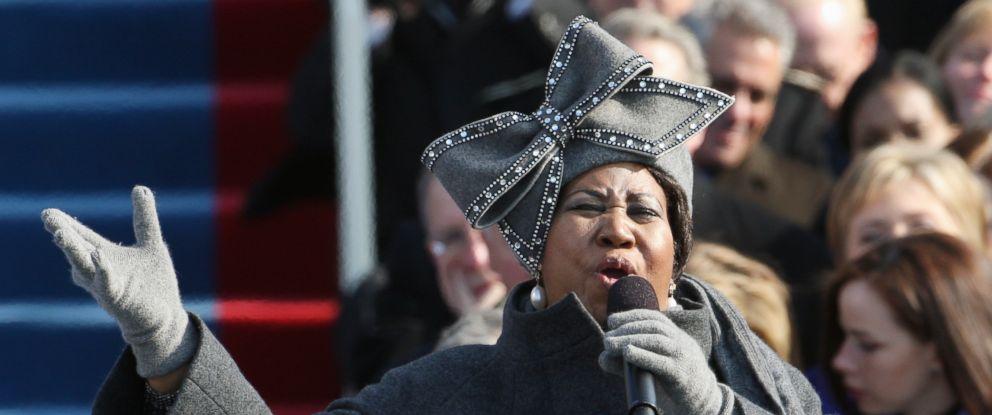 Watch Aretha Franklin\u0027s iconic performance at President Obama\u0027s 2009