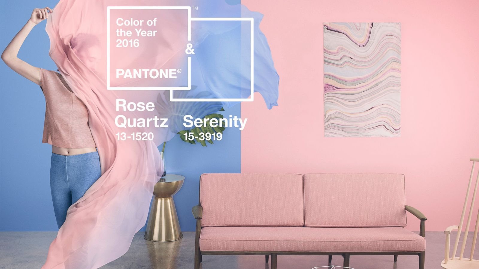 Pantone Color 2016 Pantone Color Of The Year 2016 Is Blend Of Serenity And Rose