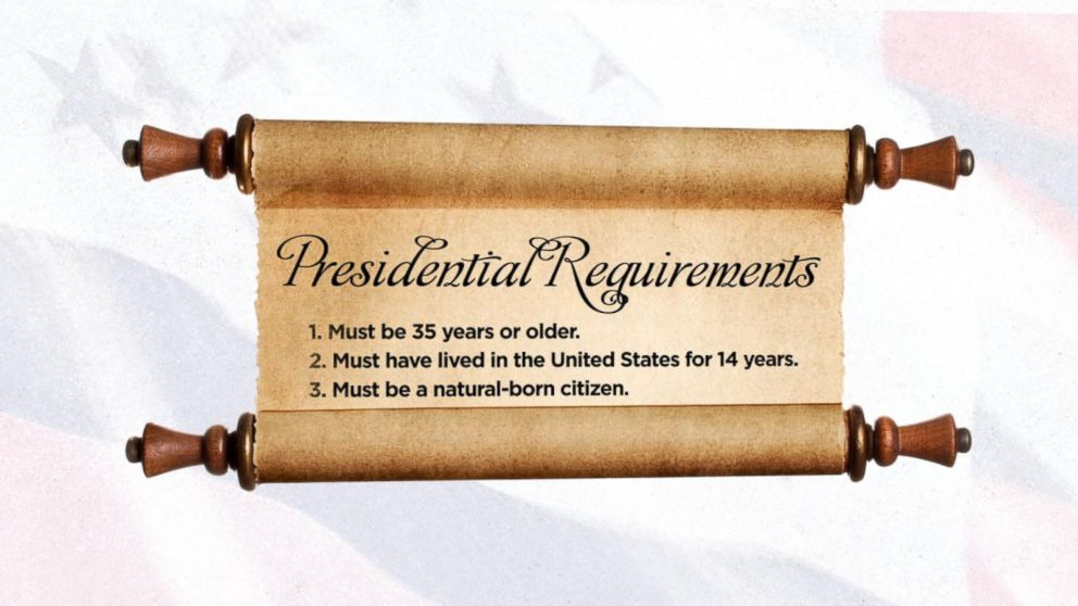 America 101 What Qualifications Do You Need to Become President