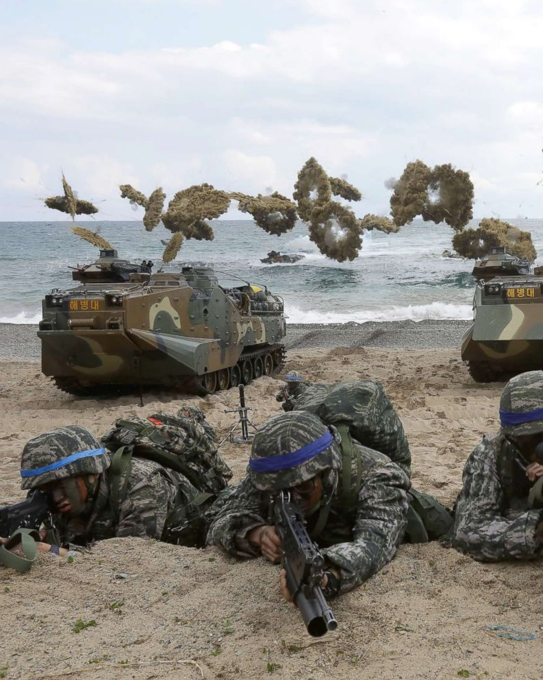 About South Korea Us South Korea Announce Annual Military Exercises To Begin On