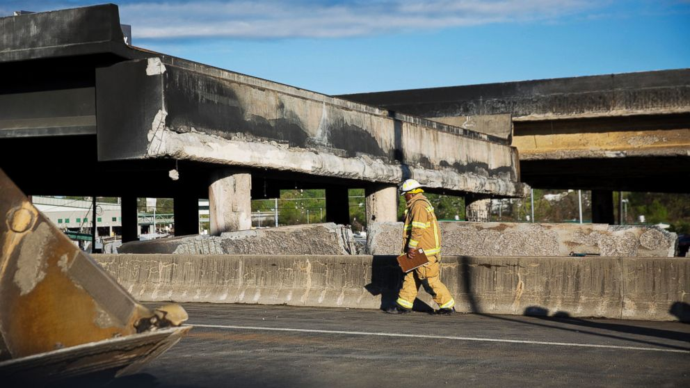 Highway Damaged By Fire To Reopen By Memorial Day