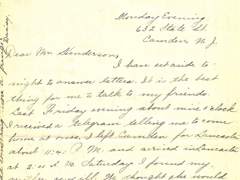 Woman Posting Pennsylvania Couple\u0027s 109 Love Letters From More Than - love letter