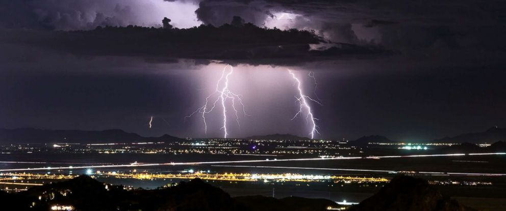Why so many people survive being struck by lightning - ABC News