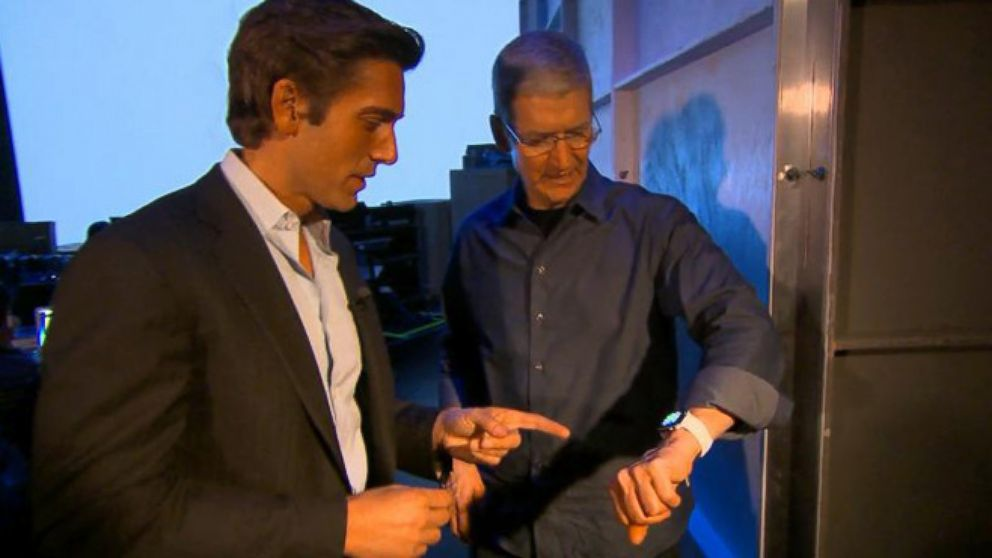 ABC\u0027s David Muir Exclusive Backstage Interview With Apple CEO Tim