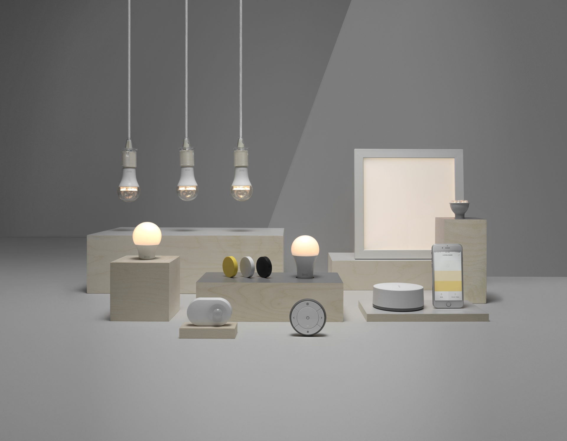 Smart Lighting Ikea S Affordable Smart Lights Will Dim With Your Voice