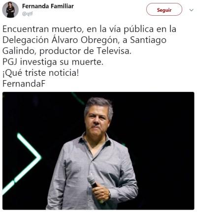 #QEPD: El mundo artístico en luto tras la muerte de Santiago Galindo | HuffPost Mexico